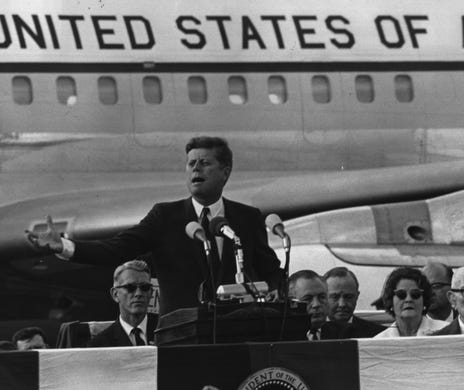 Today in History, October 5, 1962: President Kennedy visited Cincinnati