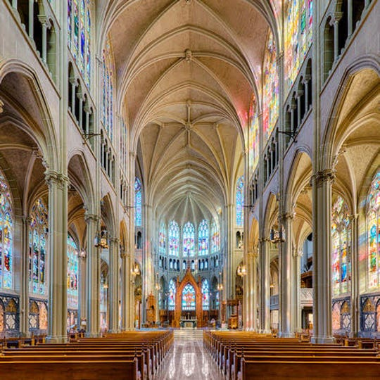 On the tour will be the interior of the Basillica of the Assumption in Northern Kentucky.