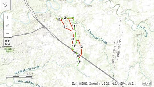 The TVA has proposed a new power line for the Shady Grove area expected to completed by 2021.