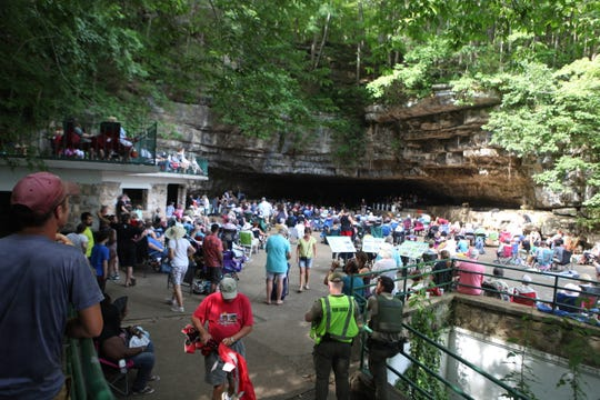 Friends of Dunbar Cave held its annual Cooling at the Cave event on Saturday, July 27, 2019.
