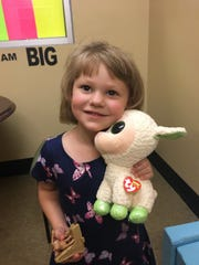 """A 4-year-old girl calling herself """"Alana"""" was found on the side of the road in Clarksville on July 29, 2019."""