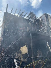 28 residents were displaced July 28 following a fire in two adjacent Washington Street buildings.