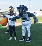 "The Somerset Patriots welcomed home Season XIV ""American Idol"" finalist Jax as part of a promotion for FOX's television show The Masked Singer on July 28."