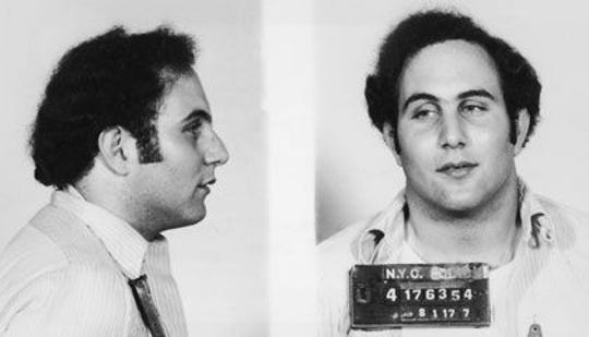"""David Berkowitz, also known as the """"Son of Sam."""""""