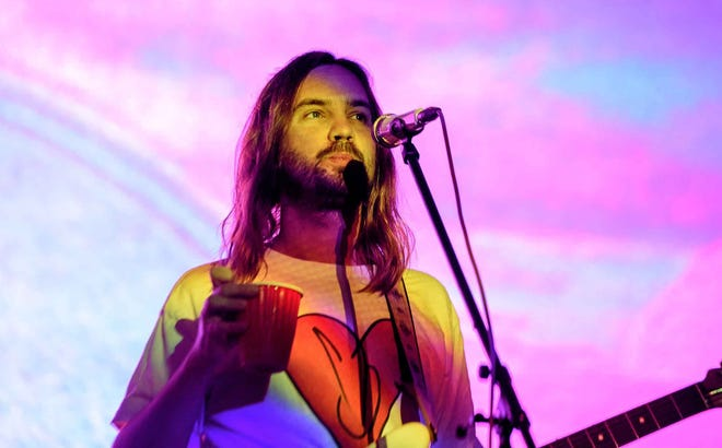 Tame Impala closed out the Sunday night Mo Pop Festival Grande Stage performances at West Riverfront Park in Detroit, July 28, 2019.