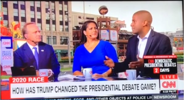 Bakari Sellers, aformer South Carolina state legislator and a CNN political commentator, swore on live TV Sunday evening.
