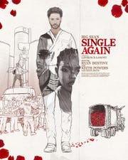 "Poster for Big Sean's ""Single Again"" short music film"