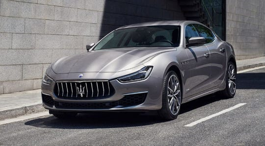 Maserati, the maker of the Ghibli GranLusso, shown, has suffered from an aging lineup and steadily shrinking global shipments