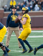 Michigan quarterback Shea Patterson will run a new offensive scheme under a new offensive coordinator this season.