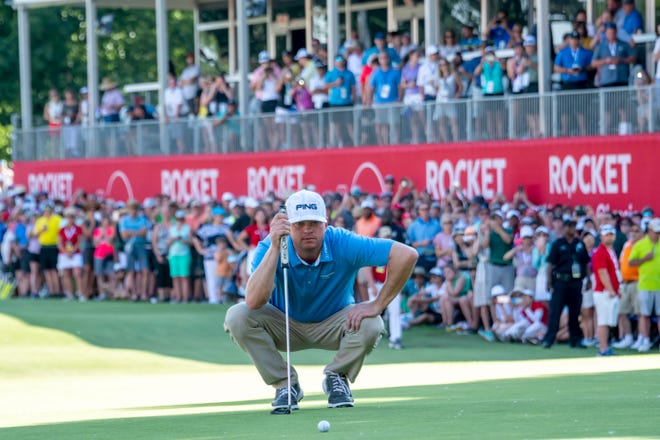 The PGA moved up the Rocket Mortgage Classic by a month next summer so it doesn't compete with coverage of the Summer Olympics.