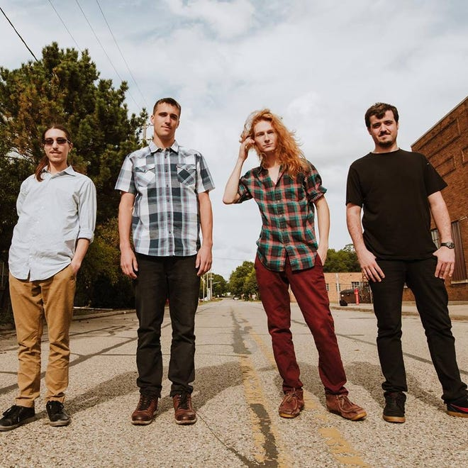 Prog rock band Chirp performs at the Free Flow Festival at Saint Andrew's Hall on Aug. 9.
