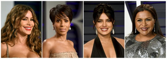 Sofia Vergara, Kerry Washington, Priyanka Chopra and Mindy Kaling. Vergara, Washington, Chopra and Kaling made Forbes' 2018 list of the 20 best-paid actors and actresses on TV.