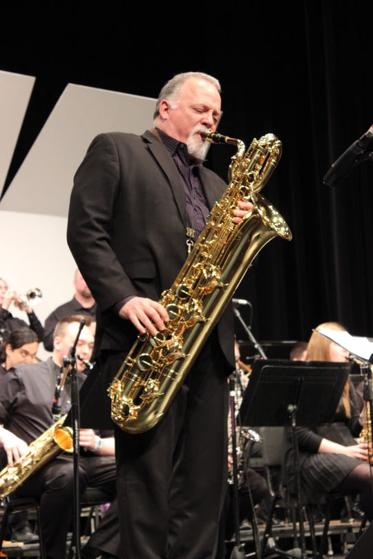 Baritone saxophonist/flautist Denis DiBlasio will perform at 'Mobsters and Music' in the Coolidge Theatre at the Deane Center for the Performing Arts Saturday.