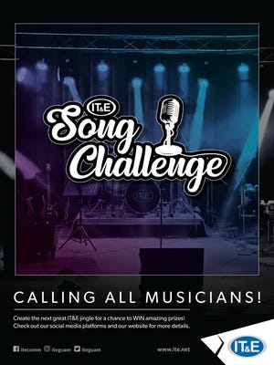 IT&E invites musicians on Guam and in the Commonwealth of Northern Marianas to compose a song about the company and mobile technology to win up to $7,000 in cash and prizes.