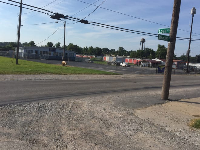 This is the Henderson intersection where a man from Evansville was killed late Friday night after a party ended at the banquet hall across the street.