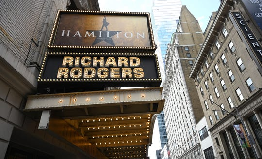 "Cast members from the touring production of ""Hamilton"" will perform at The Cabaret this December. The hit musical continues to be staged in New York, among many other cities."