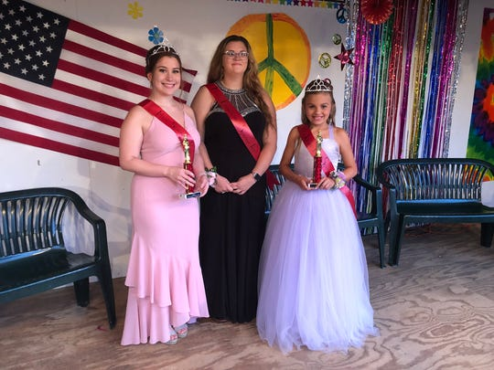 Miss Spencer Picnic 2019, Natilie Graham; Miss Congeniality, Katelyn Klimekoski; Junior Miss Spencer, Reece Hickey.