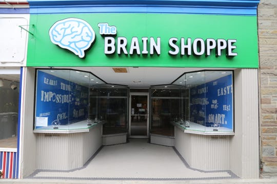 The Brain Shoppe is located on the Ithaca Commons