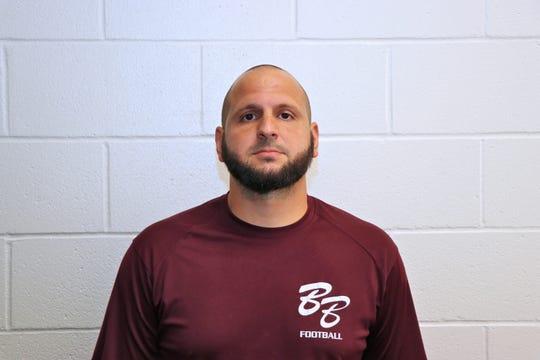 Breaux Bridge football coach Chad Pourciau
