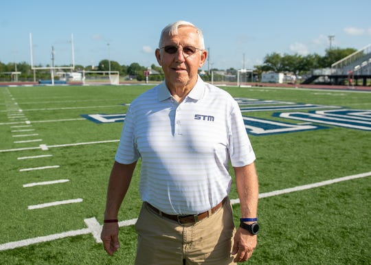Jim Hightower, St. Thomas More football coach