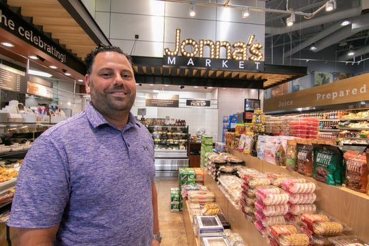Michael Jonna, owner of Jonna's Market, shown Monday, July 29, 2019, is proud of the recent improvements to the Howell store.