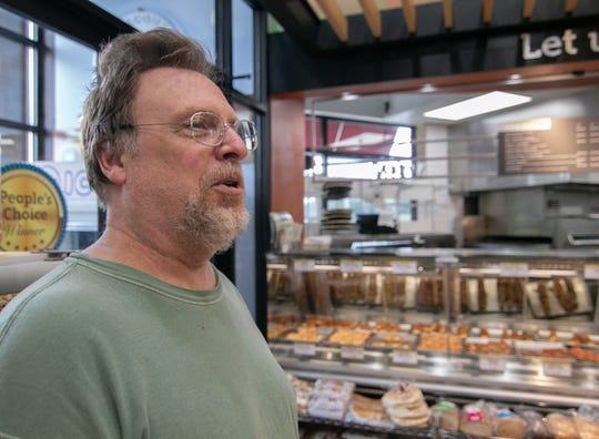 Jonna's Market customer Chuck Culver, visiting the Howell store Monday, July 29, 2019, says he likes the look of its recent improvements.