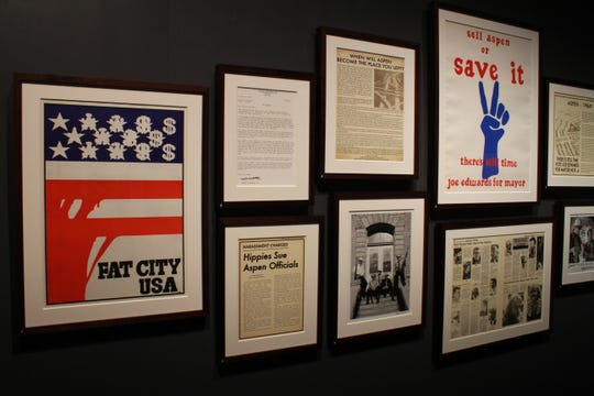 """""""Freak Power: Hunter S. Thompson's Campaign for Sheriff"""" at the Frazier History Museum. Curated by Daniel Joseph Watkins. 2019."""