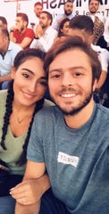 Yasmeen Sakaan, 22, and Amr Sankari, 25, enjoy their summer together before they attend school for the fall semester. The couple married in the summer of 2017, but Sakaan had to go back to Memphis and Sankari could not go with her because of President Donald Trump's travel ban.