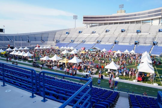 The festival will be in the Liberty Bowl Stadium.