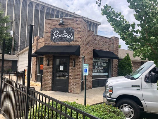 Fox Ridge Pizza is moving to Brookhaven Circle in the building that once was Porcellino's Craft Butcher.
