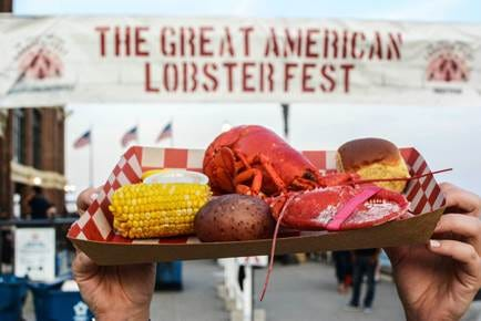 The Great American Lobster fest is coming to Milwaukee Aug. 16 to 18