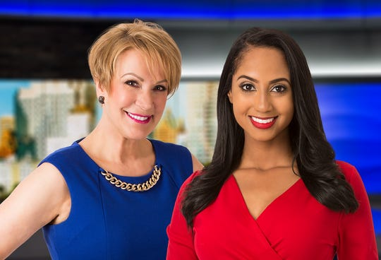 Meteorologist Sally Severson (left) will continue doing the weather at 11 a.m. on WISN-TV (Channel 12). Eden Checkol anchors the newscast.
