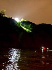 The Cudahy and South Milwaukee Fire Departments saved a man who fell from a cliff early on Monday, July 28. The Fire Departments were able to rescue the man from a boat. He sustained non-life threatening injuries.