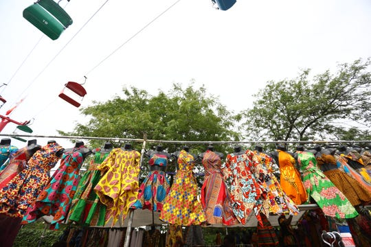 An array of clothing, crafts and more will be available for purchase at Black Arts Fest MKE Saturday at Maier Festival Park.