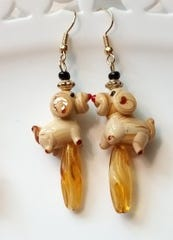 """Animal Baubles"" jewelry by Debra Gindhart"