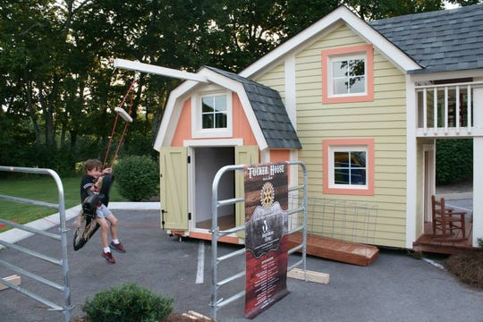 Tucker's House is raffling off a custom, one-of-a-kind playhouse during its 10-year anniversary celebration next month.