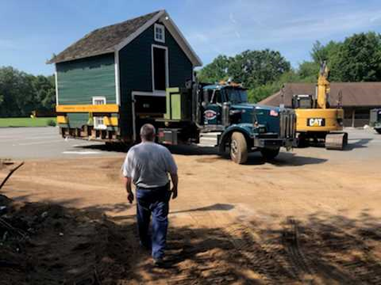 Wyckoff Nj Moves Two Story Barn To Preserve A Piece Of History