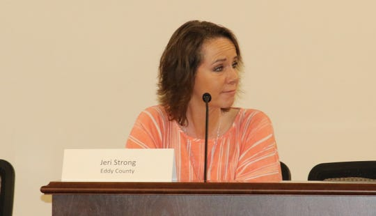 Jeri Strong, Eddy County oil and gas liaison, is the facilitator of the Eddy County Energy Advisory Board.