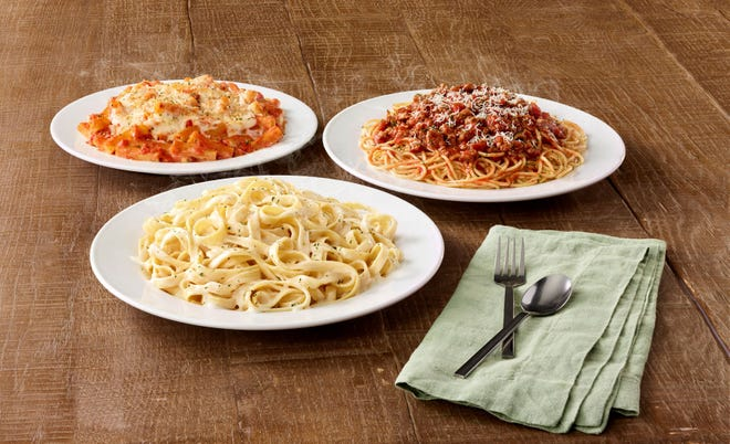 Three dishes are available to take home for just $5 on the now year-round special.