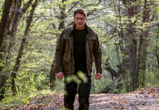 """Secret Service agent Mike Banning (Gerard Butler) is on the lam in """"Angel Has Fallen."""""""
