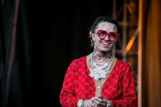 Lil Pump actuó en el Pot of Gold Music Festival el domingo 17 de marzo de 2019.