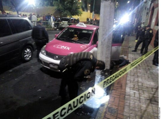Dos taxistas fueron detenidos por la Policía, luego de intentar robar a tres menores de edad, tras fingir una pelea,  en la Alcaldía de Cuauhtémoc. (Foto archivo)