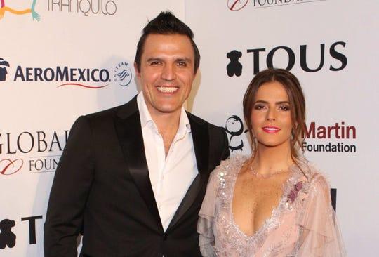 Billy Rovzar y Claudia Álvarez, felices con sus 4 meses de embarazo.