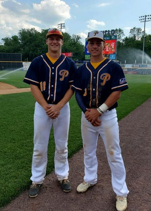 Palmyra's Christian Kreiser and Cedar Crest's Jonathan LaBarbera helped Pennsylvania to a Big 26 sweep of Maryland over the weekend.