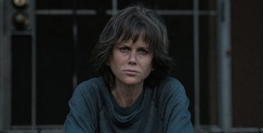 "This image released by Annapurna Pictures shows Nicole Kidman in a scene from ""Destroyer."""