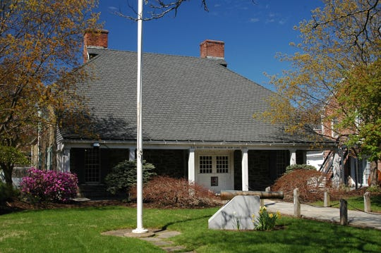 Built in 1939-1940, the Rhinebeck Post Office building is an exact replica of a house built in 1700 along the road to Rhinecliff by Hendrick Kip. Part of President Franklin D. Roosevelt's WPA program, it is one of five post offices built in Dutchess County as part of that initiative.