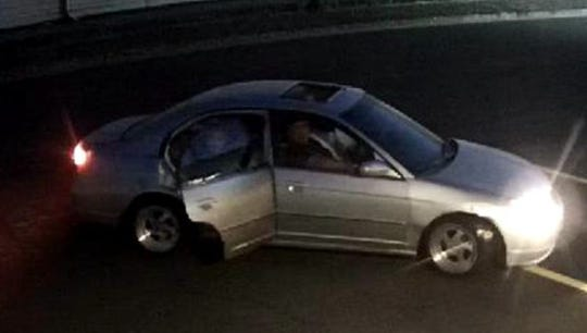 Vehicle of interest in a shooting on July 28 behind the Lancaster Drive Safeway.