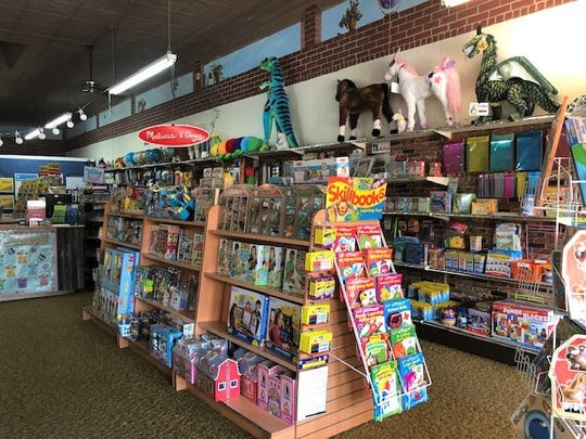 The Teacher Store offers educational supplies as well as games and toys.