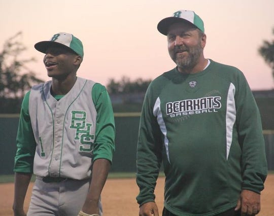 Bossier coach David Beeson, right, passed away on Monday.