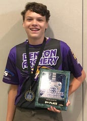 Benton's Ethan Isaksen was selected a top 5 middle school archer in the world over the weekend.
